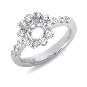 S. Kashi and Sons EN7072 1WG White Gold Engagement Ring