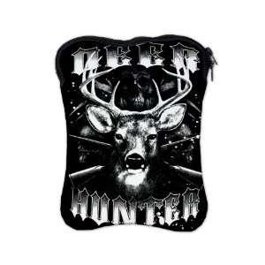 iPad 1 2 & New iPad 3 Sleeve Case 2 Sided Deer Hunter Buck