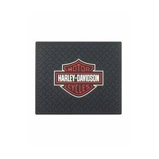 PlastiColor 1002 Large Harley Davidson Logo Molded 14 x 17 Utility