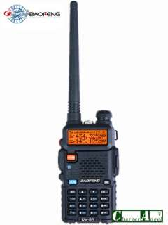 UV 5R VHF/UHF Dual Band Radio 136 174 400 480Mhz FM 65 108MHZ