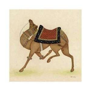 Ram Babu   Camel From India I GICLEE Canvas
