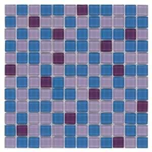 Britto 12W x 12L Elite Blue Glass Tile CHIGLABR203