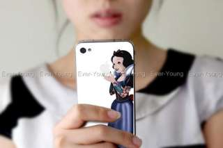 Tattoo Snow white Apple iPhone 4/4S Sticker Skin vinyl Decal Cell