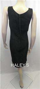 NEW MSSP MAX STUDIO BLACK COCKTAIL DRESS SIZE MEDIUM 805702565174