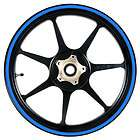 blue 12 to 15 inch motorcycle scooter car wheel rim