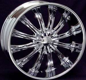28 inch B15 chrome wheels rims Escalade Avalanche Tahoe