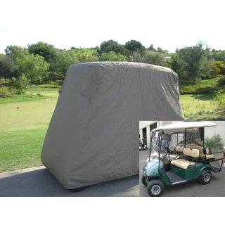 Golf Cart Cover fits E Z GO, Club Car and Yamaha G model   Taupe