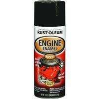 Rust Oleum High Temp Engine Spray Paint Gloss Black