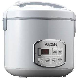 20 Cup (Cooked) Rice Cooker and Food Steamer, White Kitchen & Dining