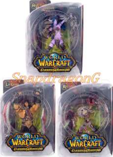 DC WOW World of Warcraft Series 5 Action Figures Set/3