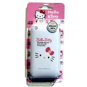IPHONE 3 3G 3GS ORIGINAL SANRIO HELLO KITTY (FRIENDSHIP) SILICON COVER