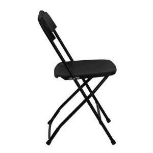 Hercules Series Premium Plastic Folding Chair Color Black