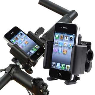 Universal Black Bicycle Bike Handle Phone Mount Holder For Samsung