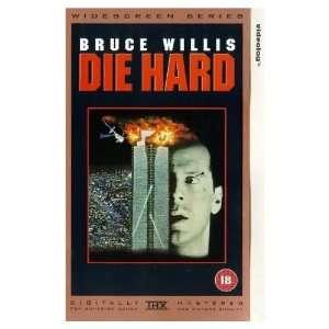 Die Hard [VHS] Bruce Willis, Alan Rickman, Bonnie Bedelia
