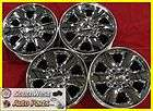 22 09 10 11 SILVERADO TAHOE CHROME TAKE OFF WHEELS FACTORY OEM RIMS