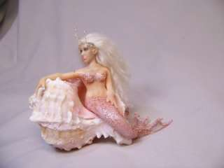 OOAK Fantasy Tiny Fairy Mermaid art doll sculpture ADSG IADR Kate