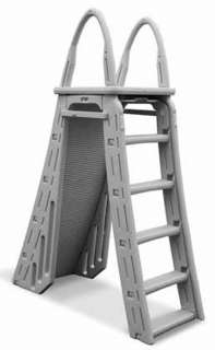 7200 Guard Heavy Duty A Frame Aboveground Swimming Pool Ladder 48 54