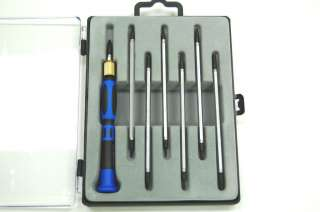 Precision Screwdriver Dual head Screwdriver & Torx Driver Set 9 Pc 14