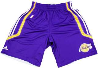 NBA Los Angeles Lakers Adidas On Court Practice Shorts  Purple  With