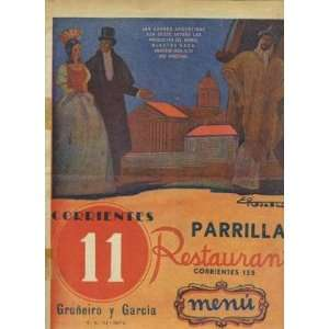 Garcia Parrilla Restaurant Menu Buenos Aires Everything Else