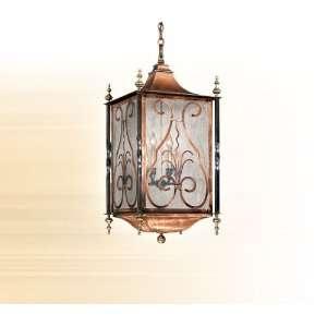 CorbettLighting Six Light Hanging Lantern Outdoor Hanging & Wall