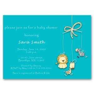 Safari Dreams Baby Shower Invitations (Boy) Health