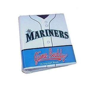 Seattle Mariners Game Buddy Autograph Book Sports