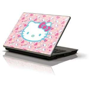 Hello Kitty Pink, Hearts & Rainbows Vinyl Skin for Generic 12in Laptop