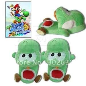 christmas gift cartoon super mario green dragon plush