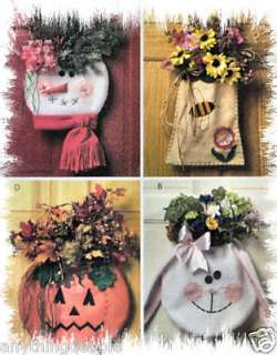 MCCALLS M5257 CRAFT SEWING PATTERN SEASONAL DOOR HANGER