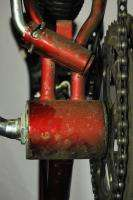 Vintage 1980s Columbia mountain bike mtb bicycle Trailrunner red