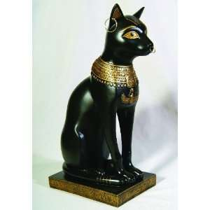 Egyptian Large Bastet Figurine Statue   Ships Immediatly !!: Home