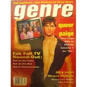 Genre Magazine (September, 2001) staff Books