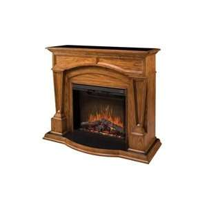 Dimplex Encore Hampton Electric Fireplace   Dark Oak Home