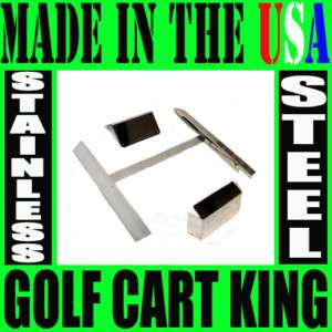 Yamaha G14 22 Golf Cart Stainless Steel Accessories Kit