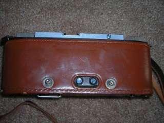Vintage Stereo Realist David White Camera Lot Leather Case & Slide