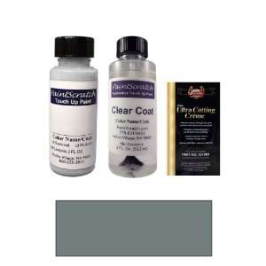 2 Oz. Dark Bluish Grey Metallic Paint Bottle Kit for 1997