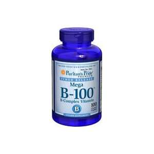 Vitamin B 100 Complex Time Release 100 mg 100 Tablets