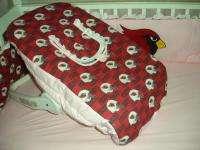 PINK Baby Nursery Crib Bedding Set w/Arizona Cardinals