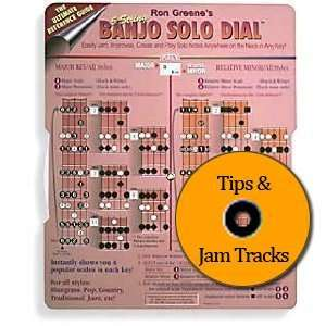 Banjo Solo Dial & CD   Solo Notes / Scales for Playing Songs in Each