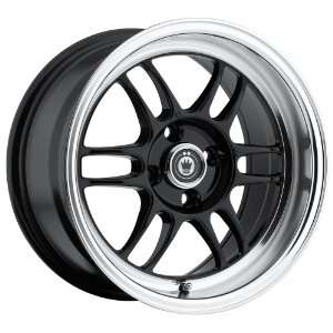 15x8 Konig Wideopen (Gloss Black w/ Machined Lip) Wheels
