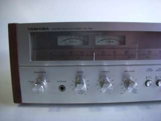 Toshiba SA 725 Vintage Stereo Audio Receiver Amplifier