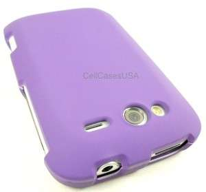 HTC WILDFIRE S PURPLE HARD SKIN COVER CASE PHONE ACCESSORIES
