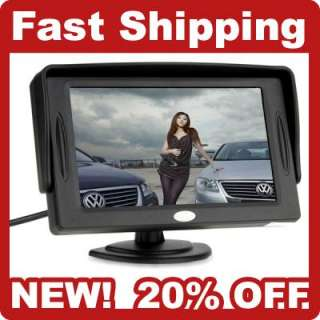 TFT LCD Color Car Rearview Backup Headrest Monitor