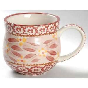 Temp Tations Old World Cranberry Mug, Fine China
