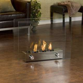 Portable Indoor / Outdoor Fireplace Heating, Cooling, & Air Quality