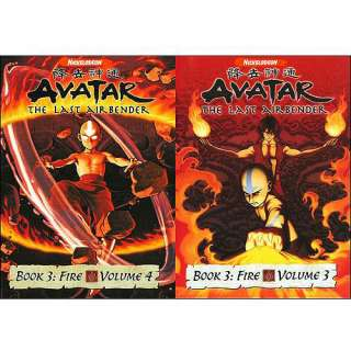 Avatar   The Last Airbender Book 3   Fire, Vols. 3 & 4