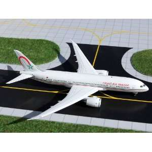 Gemini Jets Royal Air Maroc B 787 8 Model Airplane