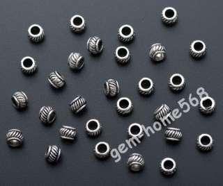 800 Tibetan Silver Lantern Beads Spacers