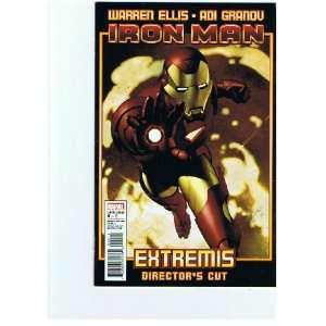 Iron Man Extremis Directors Cut #4 Warren Ellis Books